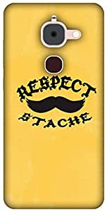 The Racoon Lean printed designer hard back mobile phone case cover for Letv Le 2. (Respect Th)
