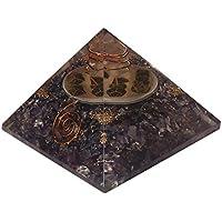 CRAFTSTRIBE Amethyst Orgon Pyramide ägyptischen Stein Bürodekor Toxic Schutzstein preisvergleich bei billige-tabletten.eu