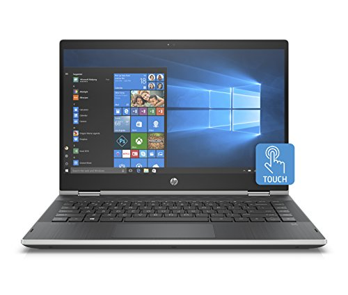 "Foto HP Pavilion x360 14-cd0022nl Notebook, Intel Pentium Gold 4415U, 8 GB di RAM, 128 GB SSD, Display Touch WLED 14"", 1366 X 768, Argento Naturale"