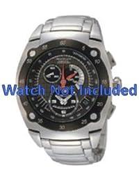 Correa de reloj de Seiko/7l22 0as0 SNL043P1 (no incluidos en el precio del reloj. Correa de reloj original solamente)