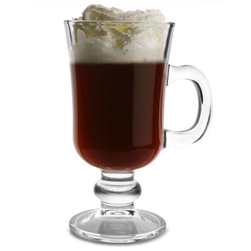 Entertain Irish Coffee-Gläser, 20 ml, 225 ml, 2 Stück, Irish Coffee-Gläser mit Stiel, Irish Coffee-Gläser von Ravenhead