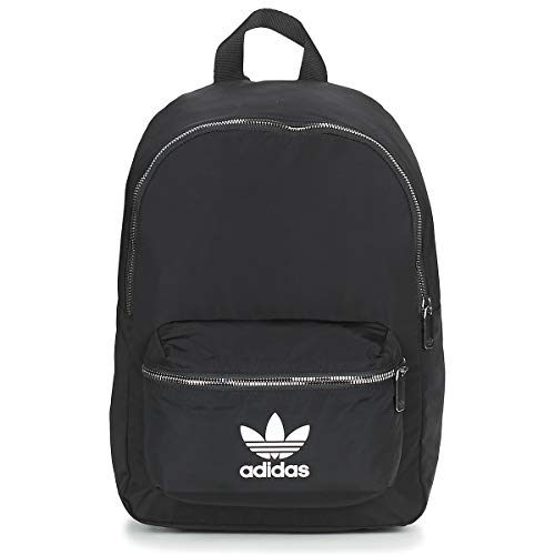 adidas Damen Nylon Rucksack, Black, One Size