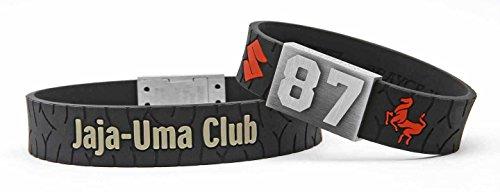 BRAYCE® Suzuki Armband mit Deiner Nummer 00-99 I Motorsport & Jaja Uma Club pur