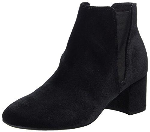 MARCO TOZZI Damen 25052 Chelsea Boots, Schwarz (Black Velvet), 38 EU