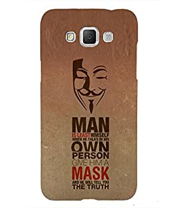 Nice Quote 3D Hard Polycarbonate Designer Back Case Cover for Samsung Galaxy Grand Max
