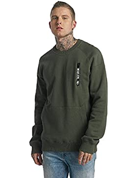 Unfair Athletics Taped Zip Sudadera olive