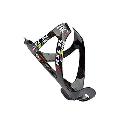 RXL SL Kohlenstoff Flaschenhalter Fahrrad Flaschenrahmen Rennrad Mountainbike Geringes Gewicht Schwarz 3K