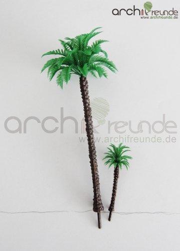 4 x Modell Baum – Palmen, für Landschaft Modellbau und Modelleisenbahn