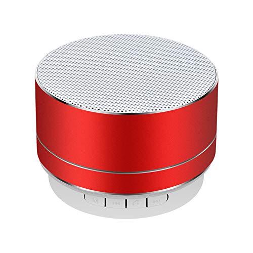 Altoparlante Bluetooth Wireless Telefono Notebook Mini Cannon Wireless Card AudioA10-Rosso