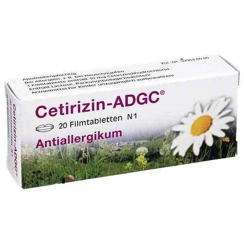 Cetirizin-ADGC 20 stk