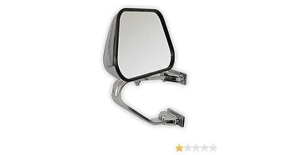 Universeller Außenspiegel 1 Stück Aus Metall Und Kunststoff Passend Für Van S Pickup Geländewagen Us Cars Etc Fahrer Beifahrerseite Auto