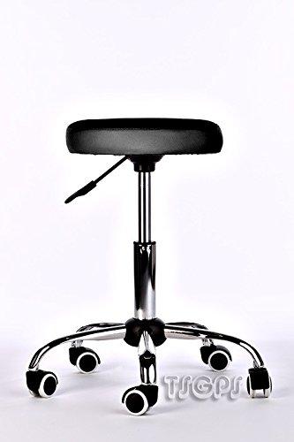 Kosmetik Arbeitshocker Massage Hocker , höhenverstellbar, schwarz