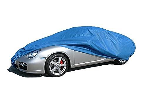ballier Autoabdeckung Puff Indoor - Größe M 420x176x149 cm, Blau