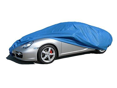 ballier Autoabdeckung Puff Indoor - Größe M2 415x160x143 cm, Blau