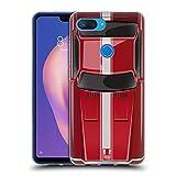 Head Case Designs Speed Rot Klassische Automobile Soft Gel Hülle für Xiaomi Mi 8 Lite/Mi 8X