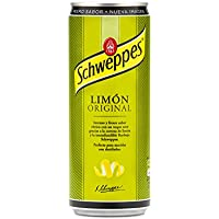 Schweppes - Limón Original, Lata 33 cl - [Pack de 24]