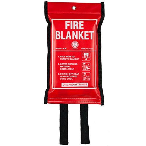 Fire Extinguisher & Fire Blanket : A2Z Fire 1kg Powder Fire Extinguisher For Home, Kitchen, Car, Caravans & Boats