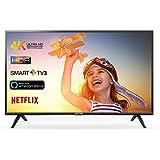 TCL 55DP602 Fernseher 139 cm (55 Zoll) Smart TV (4K, HDR, Triple Tuner, Alexa kompatibel, Micro Dimming, T-Cast)