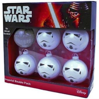 Star Wars - Imperial Baubles (6-Pack) Ware Zinn