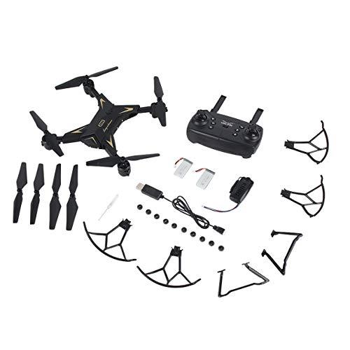Comomingo KY601S Mit RC Drone 1080P Kamera Schwerkraftsinn 20 Minuten mit DREI Batterien (Schwarz)