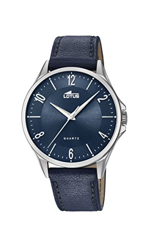 Lotus Watches Mens Analogue Classic Quartz Watch with Leather Strap 18518/3