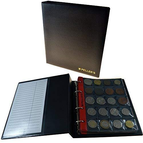 PELLER'S Álbum colección M 200 Monedas Medianas