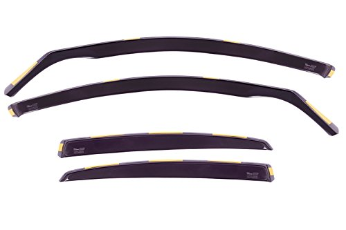 heko-10233-front-and-rear-wind-deflectors-fits-audi-a4-4-door-saloon-2009-4-pieces