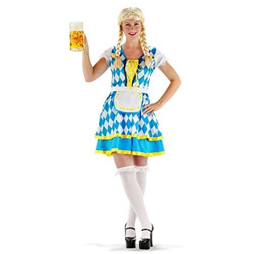 Tiroler Kostüm - Folat Erwachsenenkostüm Tiroler Kleid Oktoberfest