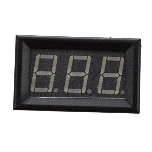 SODIAL(R)Mini Platte Digital Amperemeter 4 - 30V DC 100 A blau Digital-platte