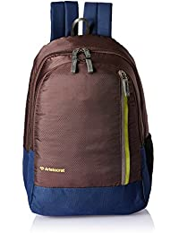 Aristocrat 22 Ltrs Brown Casual Backpack (LPBPPEP3BRN)