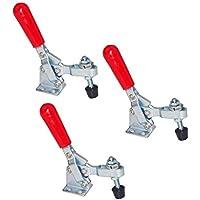 Haobase 3pcs 102B 180Kg 397 Lbs U Form Bar Red Handgriff Vertikale Toggle Clamp
