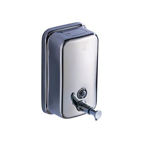 DW&HX Seifenspender,Edelstahl-seife dispenser Hotels bad-seifenkiste Wall-mounted liquid soap-B