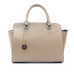Diana Korr Womens Handbag (Beige)