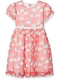 Rachel Riley Swan Party Dress, Vestido para Niñas