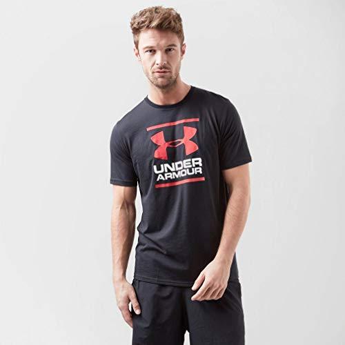 Under Amour Herren Gl Stiftung Kurzarm-t-Shirt Mit Logo, 001 Noir, XS - Stiftung Schwarzes T-shirt