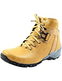 Shoes T99 Men's Tan Synthetic Leather Casual Shoes