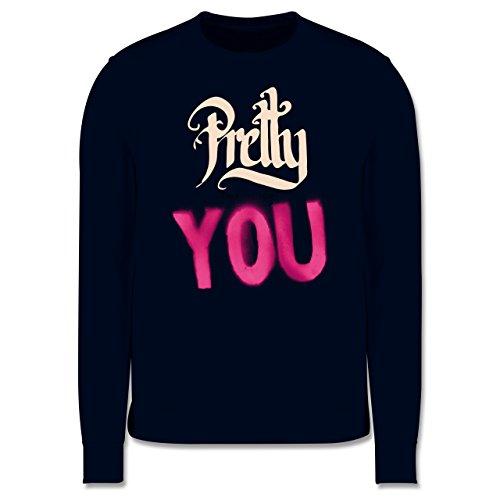 Statement Shirts - Pretty enough for you - Herren Premium Pullover Dunkelblau