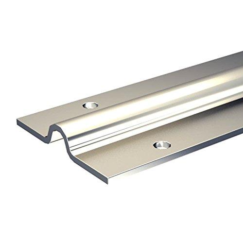 Stahl-Laufschiene 200 cm für 12mm Rundrille/Rund-Nut, für Schiebetore bis max. 400 kg