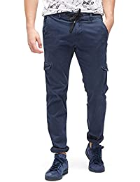 TOM TAILOR Denim Herren Hose Cargo Satinweave