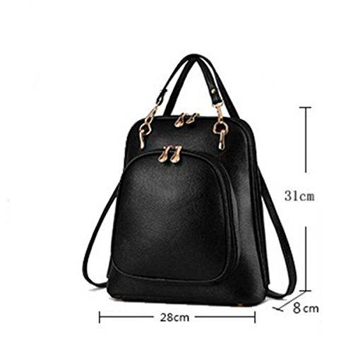 Handtasche Für Frauen Lässig Umhängetasche Black