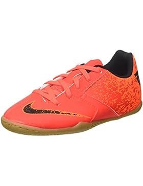 Nike Bombax Ic, Zapatillas de Fútbol Unisex Niños, Rojo (Bright Crimson/Black-Hyper Crimson), 33 EU