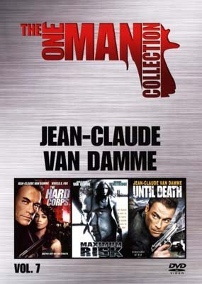 Jean-claude van damme: the one man collection: the hard corps + maximum risk + until death (dvd)
