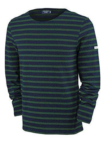 Saint James Langarm Shirt Meridien Modern NAVY/PIN