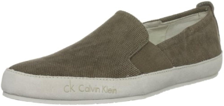 Calvin Klein Peter - Mocasines de tela para hombre