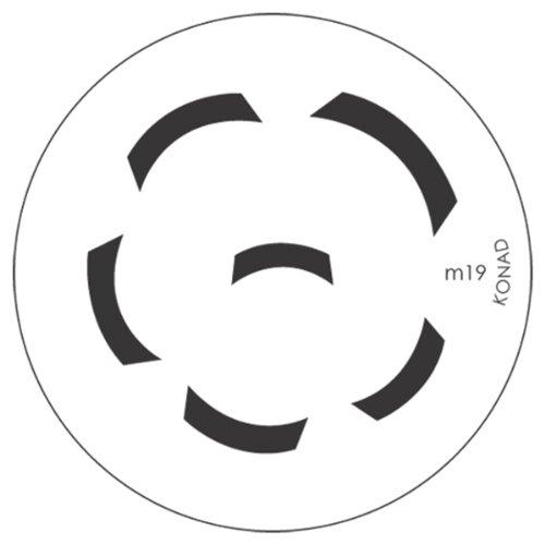 Konad Stamping Schablone für Nailart M19 - Konad Platten Set