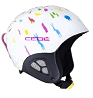 Cebe Pluma Junior Basics Ski Helmet (Animals)Features:Designed for our young athletes, this helmet brings maximum protection thanks to its non-removable, semi-rigid ear protections.Lining with 3D mesh panels for improved breathabilityIntegrat...