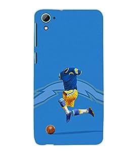 EPICCASE Flashy footballplayer Mobile Back Case Cover For HTC Desire 826 (Designer Case)