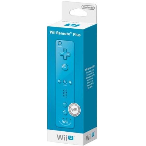 Nintendo Wii / Wii U - Mando Plus, Azul
