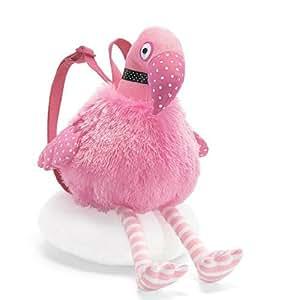FiveSeasonStuff® Cute N' Plush Girl's Pink Flamingo Backpack/ Shoulder Bag (T0004)