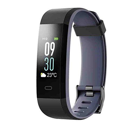 FFNNG Blutdruckmessgerät Blutdruck Smart Armband Big Screen Pulsoximeter Übung Messung Zähler Schlafüberwachung Wasserdichte Bluetooth Wasserdichte Uhr